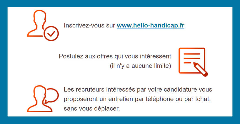 Inscription Hello Handicap
